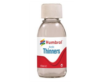 Humbrol Acrylic Paint Thinner 125ml Bottle