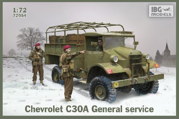 Chevrolet C30A General Service Steel-Type Body Truck
