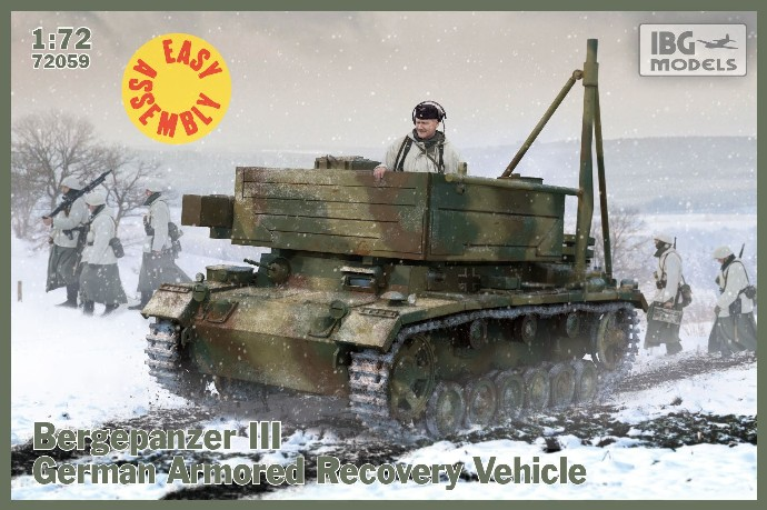 Bergepanzer III German Armored Recovery Vehicle