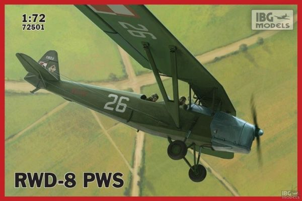 RWD8 PWS Polish Military Trainer Aircraft