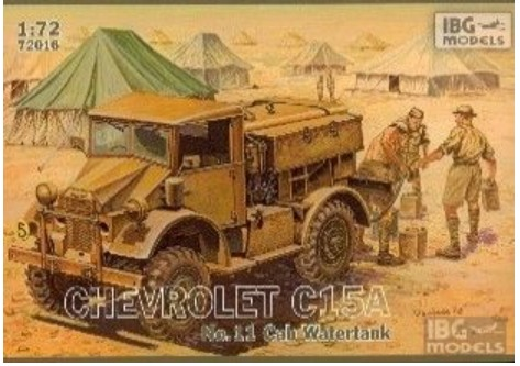 Chevrolet C15A Cab 11 Water Truck
