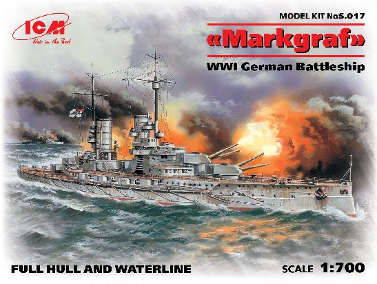 WWI German Markgraf Battleship