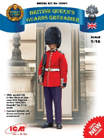 British Queens Guards Grenadier (New Tool)