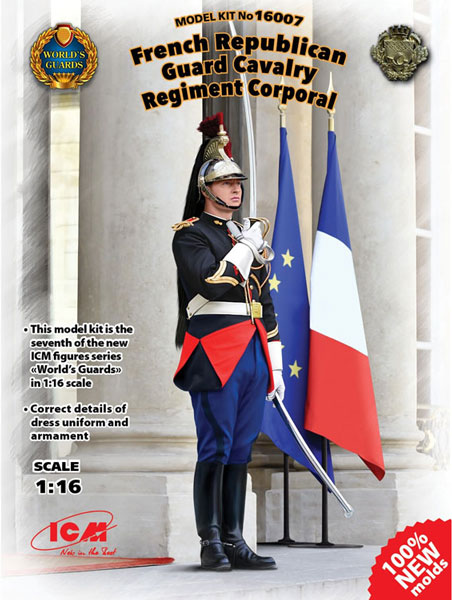 French Republican Guard Cavalry Regiment Corporal