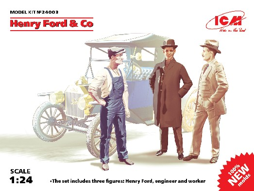 Henry Ford & Co. Figure Set (3)