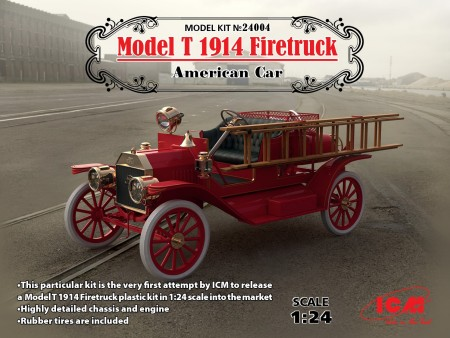 American Model T 1914 Fire Truck (New Tool)