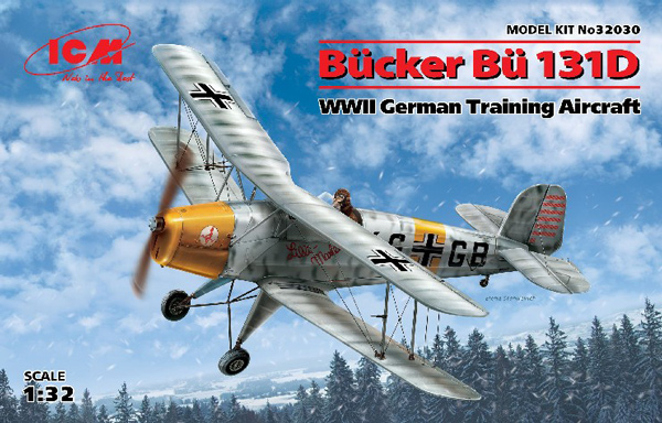 WWII German Bucker Bu131D Training Aircraft