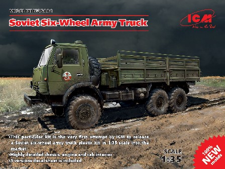 Soviet Six-Wheel Army Truck (New Tool)