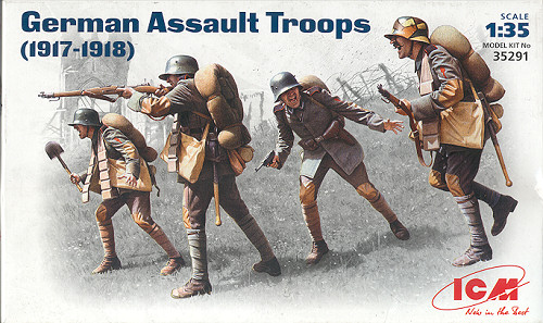 WWI German Assault Troops 1917-1918