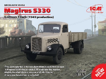 Magirus S330 1949 Production German Truck (New Tool)