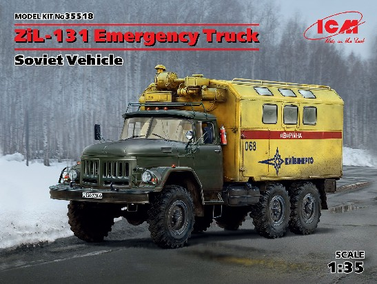 Soviet ZiL131 Emergency Army Truck