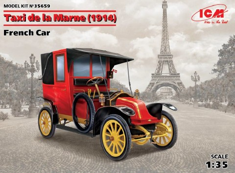 Renault AG1 French Taxi 1914 Car