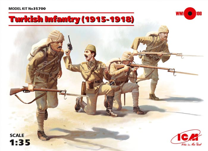 WWI Turkish Infantry 1915-1918 (4)
