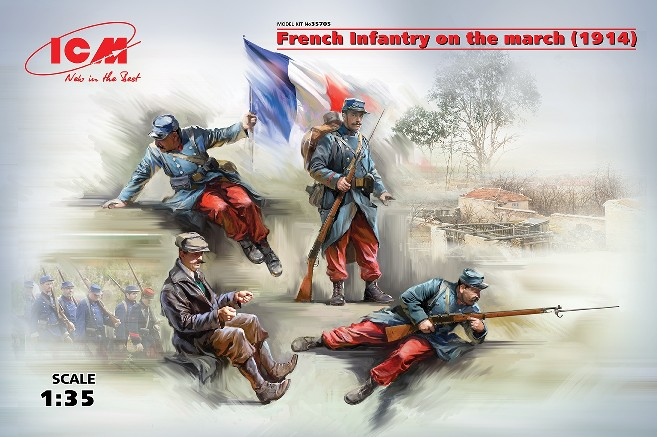 French Infantry on the March 1914 (4)