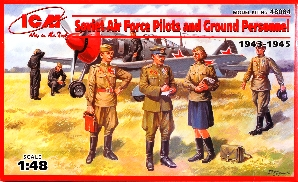 Soviet AF Pilots & Ground Personnel 1943-45 (7)