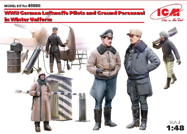 WWII German Luftwaffe Pilots & Ground Personnel Winter Uniforms