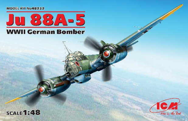 WWII Ju88A5 German Bomber (New Tool)