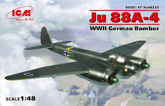 WWII German Ju88A4 Bomber