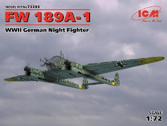 WWII German Fw189A1 Night Fighter