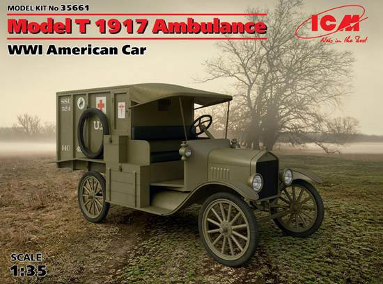 WWI American Model T Ambulance 1917