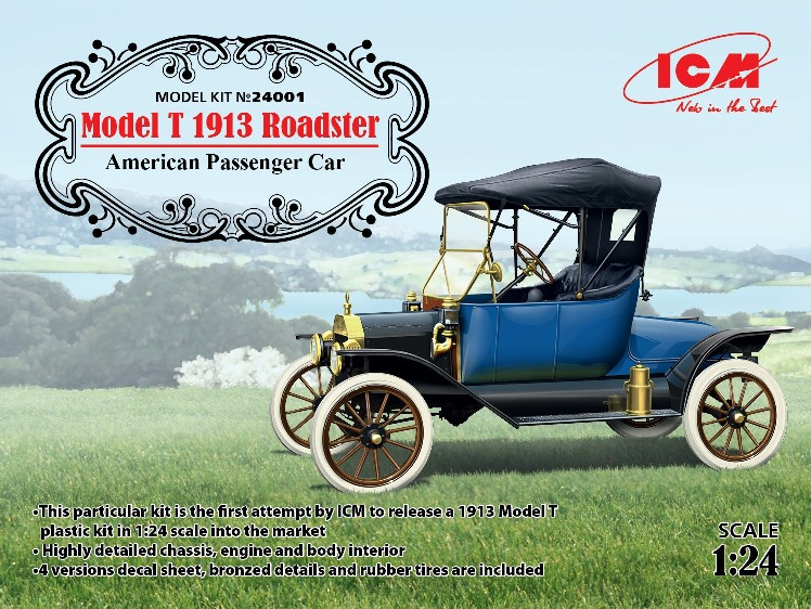 Model T 1913 Roadster American Passenger Car