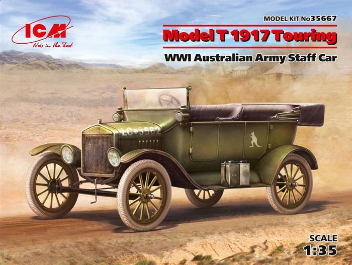 WWI Model T 1917 Australian Army Staff Car