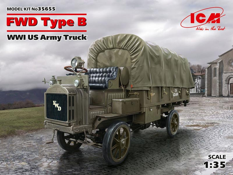 WWI US FWD Type B Army Truck