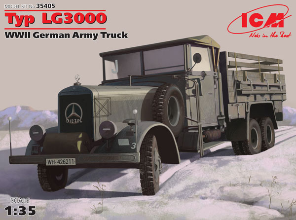 WWII German Type LG3000 Army Truck