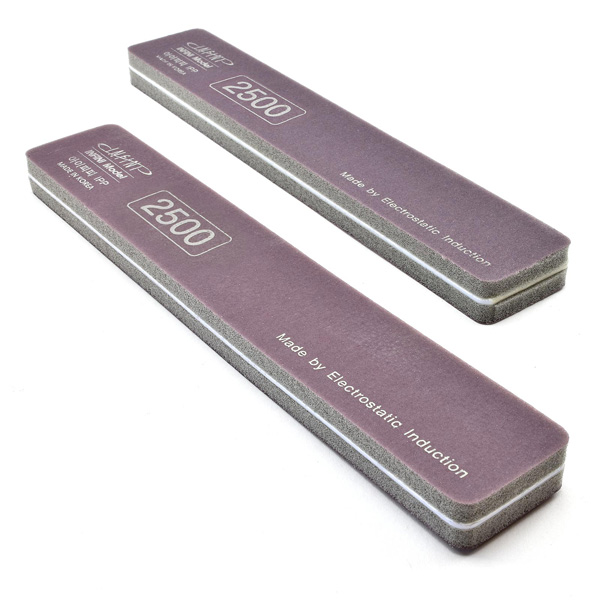 Premium Ultra-Precision Softback Sanding Stick - Quick Semi Gloss 2500 Grit, 2-Pack