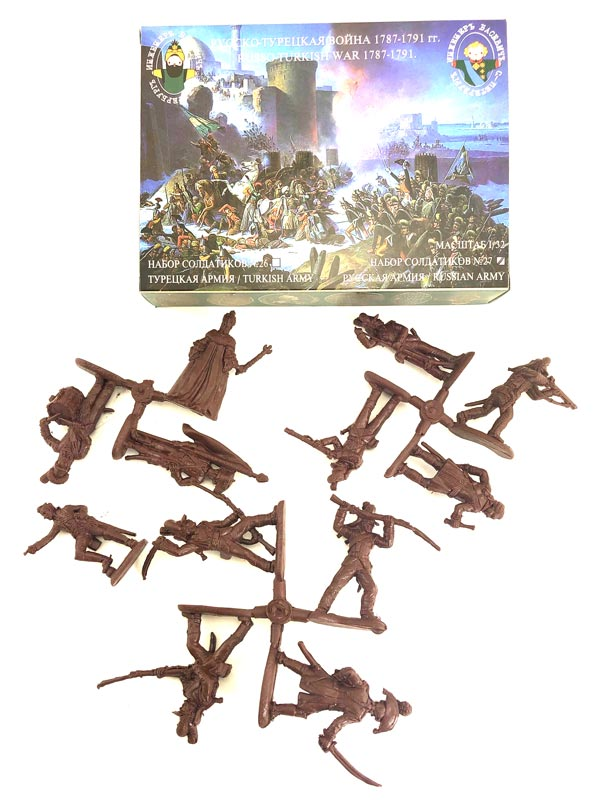 Russian-Turkish War 1787-1791 - The Russian army - Brown Plastic