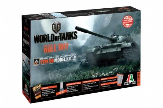 Michigan Toy Soldier Company : Italeri - World of Tanks ...