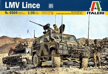 Light Multi-Role Lince Tactical Vehicle