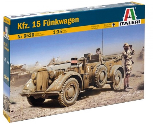Kfz15 Funkwagen Military Vehicle