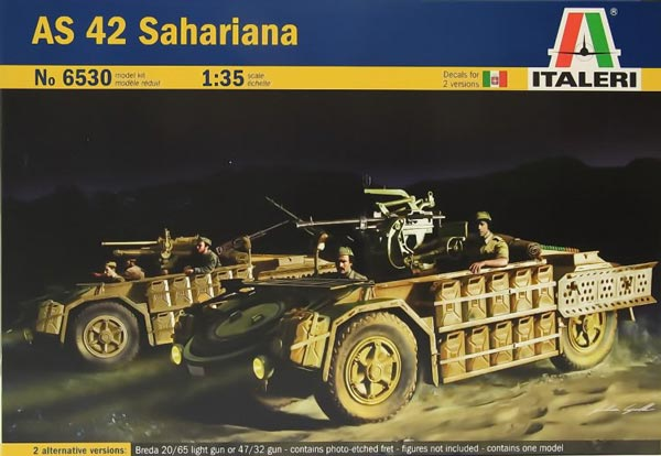 WWII AS42 Sahariana Recon Vehicle