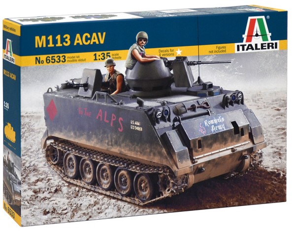 M113 (ACAV) US Armored Cavalry Assault Vehicle