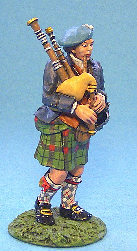 JACOBITE REBELLION - HIGHLAND PIPER #JR-12 - 1 AVAILABLE OOP