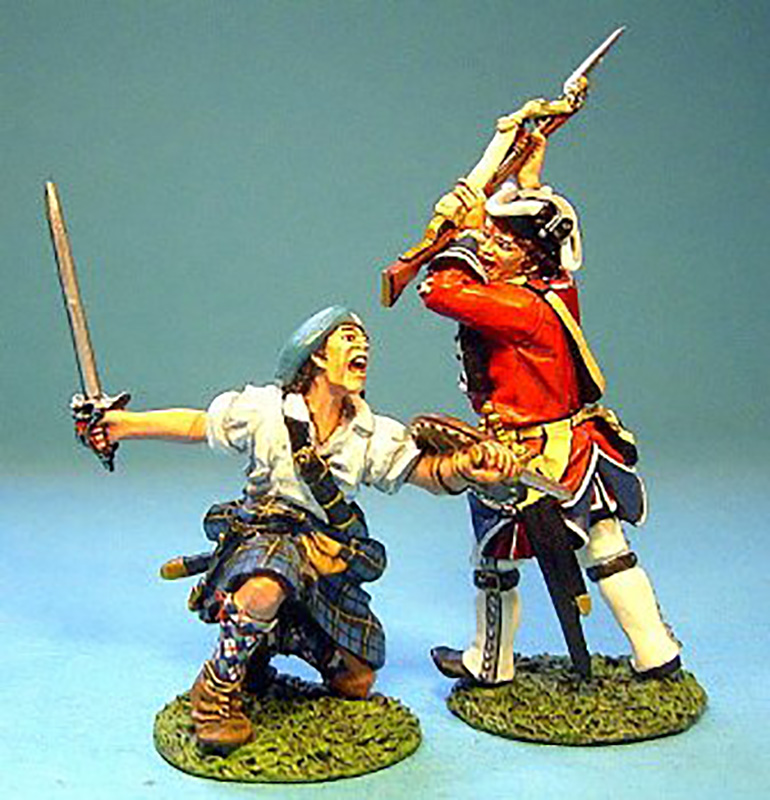 JACOBITE REBELLION - HIGHLANDER AND BRITISH #JR-17 - 1 AVAILABLE OOP