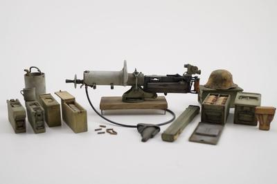 German 08MG Trench Set Weapons Pack