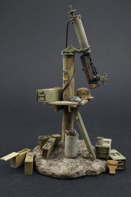 German 08MG Anti Aircraft Set Weapons Pack