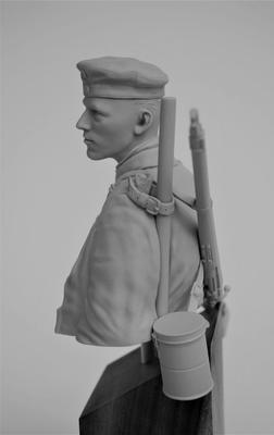 German Sapper Stormtrooper Bust