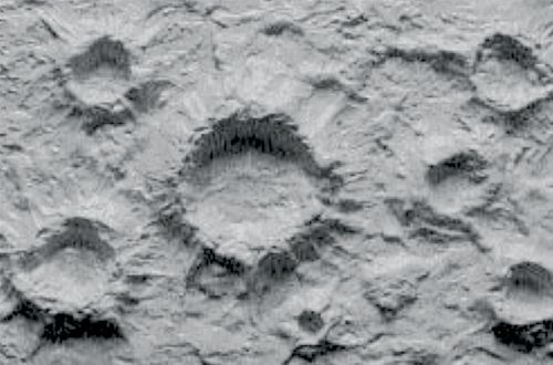 Moon and War Craters - Small Craters