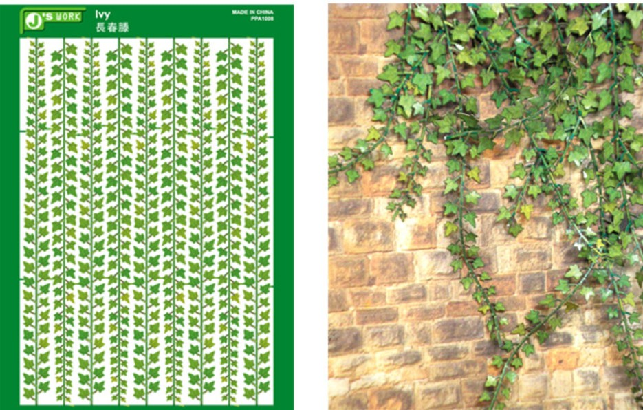 Multi-Scale Climbing Ivy (Colored Paper)
