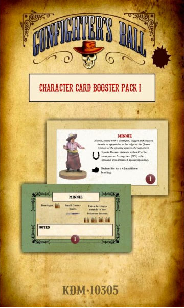 Character Card Booster Pack I