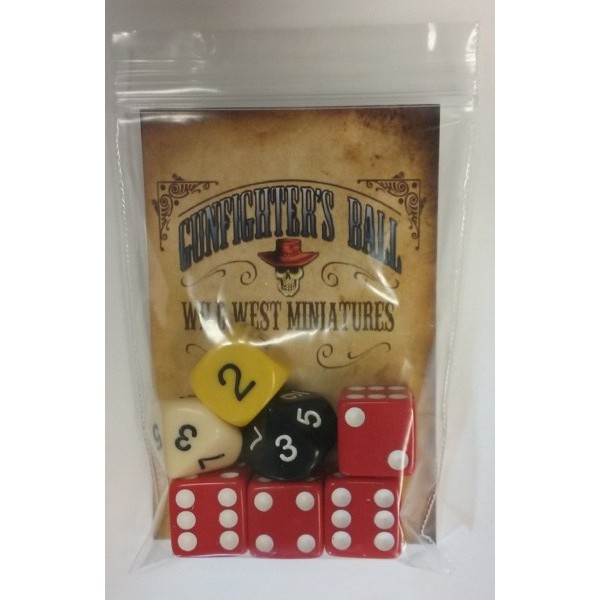 Gunfighters Ball Dice Set