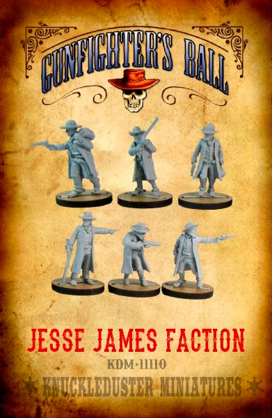 Gunfighters Ball - Jesse James Faction