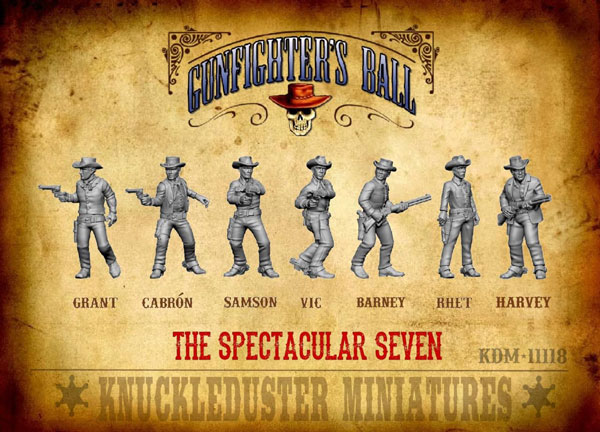 Gunfighters Ball - The Spectacular Seven Faction