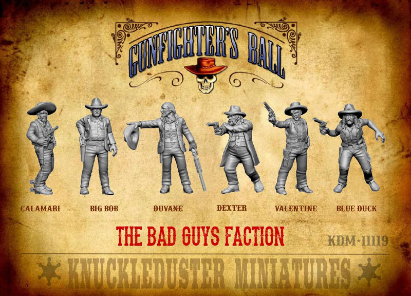 Gunfighters Ball - Bad Guys Faction