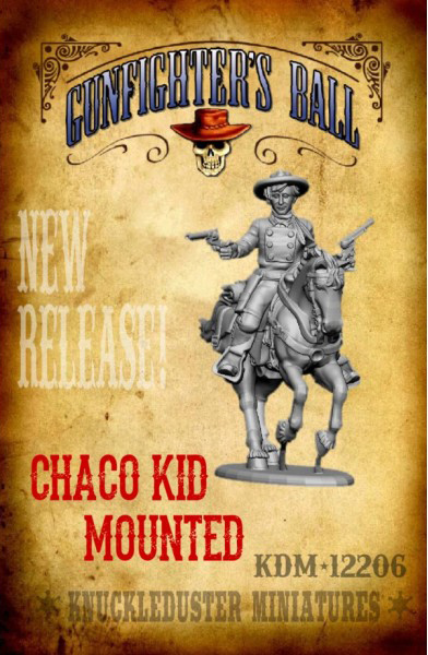 The Chaco Kid, Mounted Version