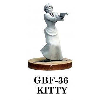 Michigan Toy Soldier Company : Knuckleduster Miniatures - Kitty