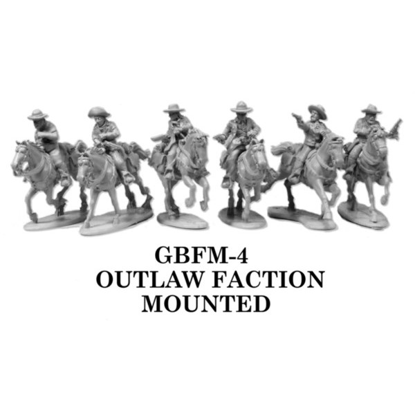 Gunfighters Ball - Outlaw Faction Mounted